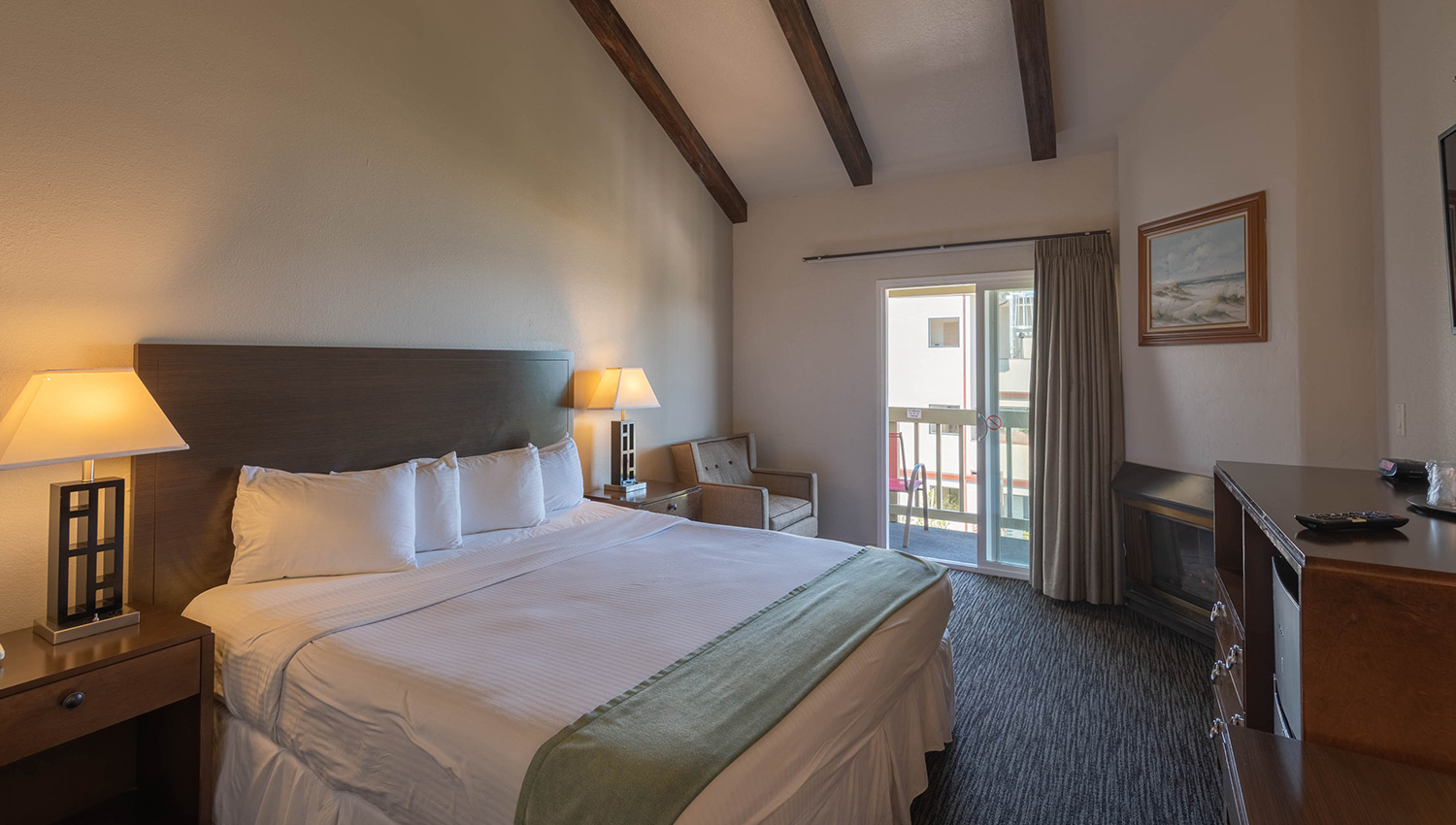 Our spacious Monterey, CA accommodations and thoughtful amenities await