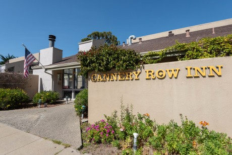 Welcome To the Cannery Row Inn - Exterior View of The Office